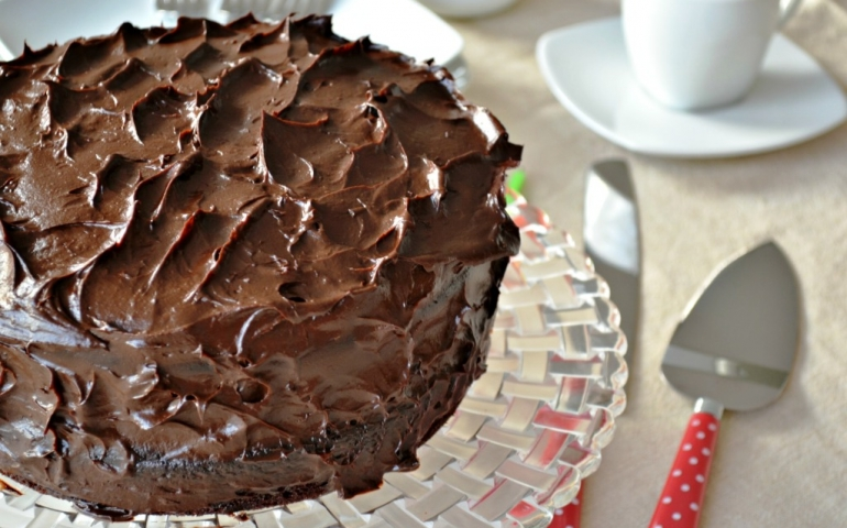 Receta: Torta de chocolate con nutella 100% fit